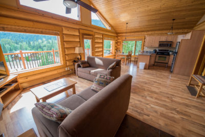 2 Bedroom Log Suite at Alpine Meadow Resort