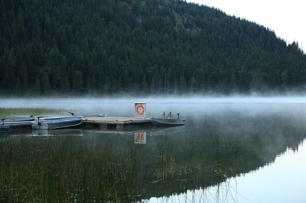 Lake view at the Alpine Meadows Resort