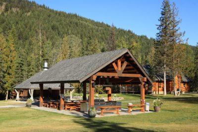 Community Hut at the Alpine Meadow Resort