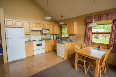 1 Bedroom Log Suite at Alpine Meadow Resort