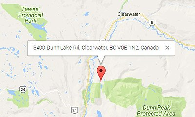 on clearwater river map