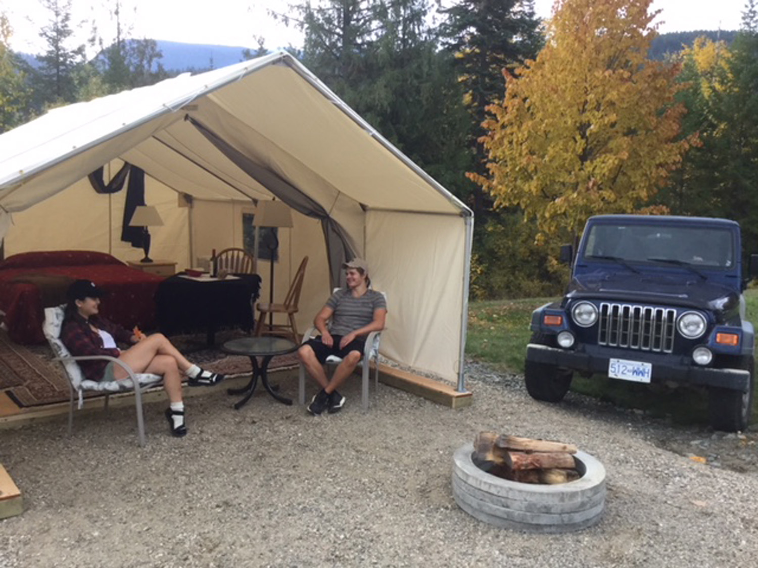 Glamping @ Alpine Meadows Resort