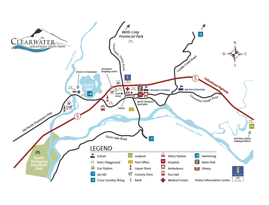 Clearwater Map