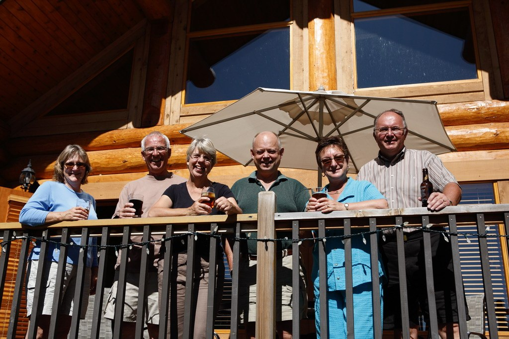 Group of Adults at Alpine Meadows Resort