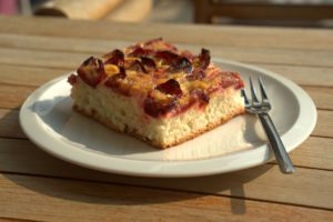 plum cake by the lake Osprey Cafe Clearwater