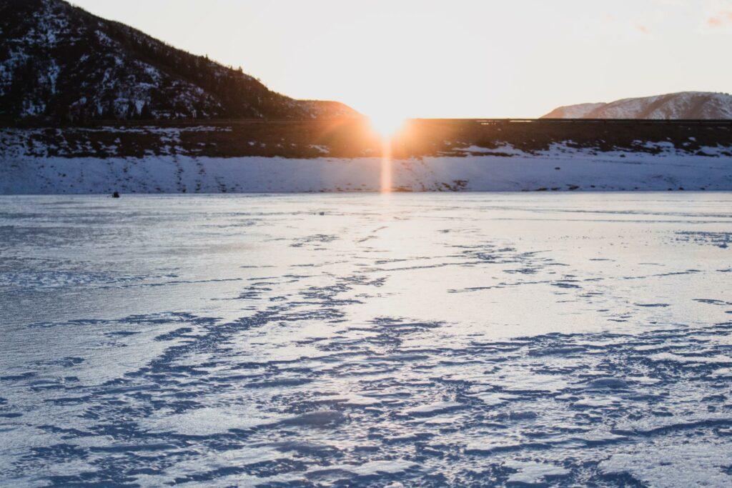 Ice Fishing in Wells Gray